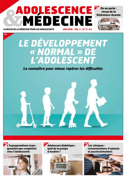 développement normal de l'adolescent adolescence médecine